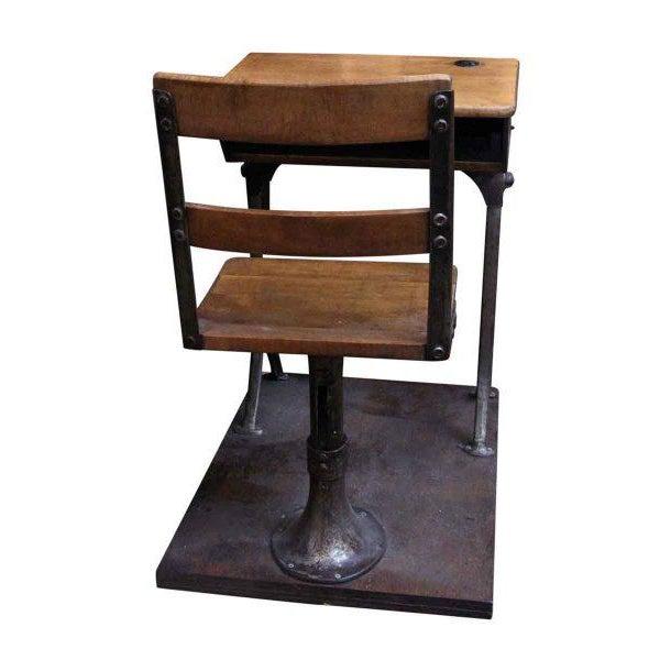 Antique Childrens School Desk - Image 6 of 7