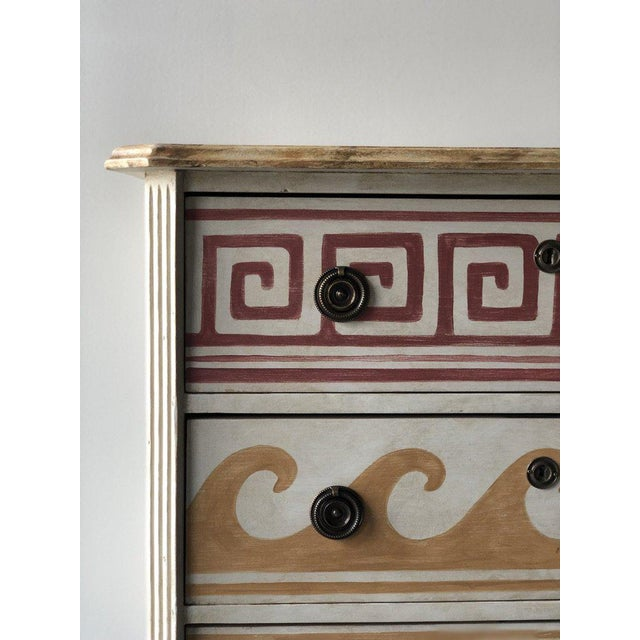 Gustavian (Swedish) Pair of Villa Kerylos Chests For Sale - Image 3 of 10