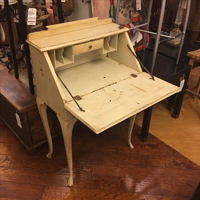 Vintage Shabby Chic Secretary Desk - Image 4 of 11