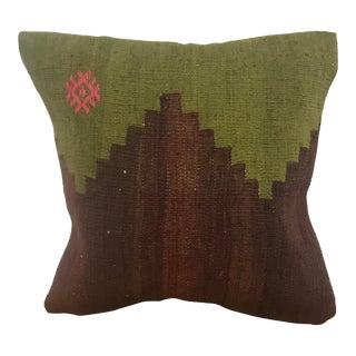 Turkish Handmade Kilim Decorative Pillow Cover For Sale