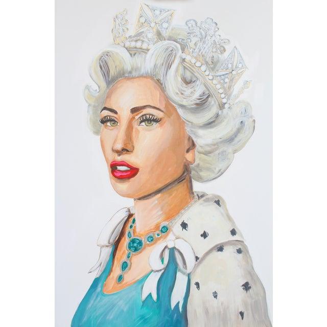Gaga Save The Queen Original Painting