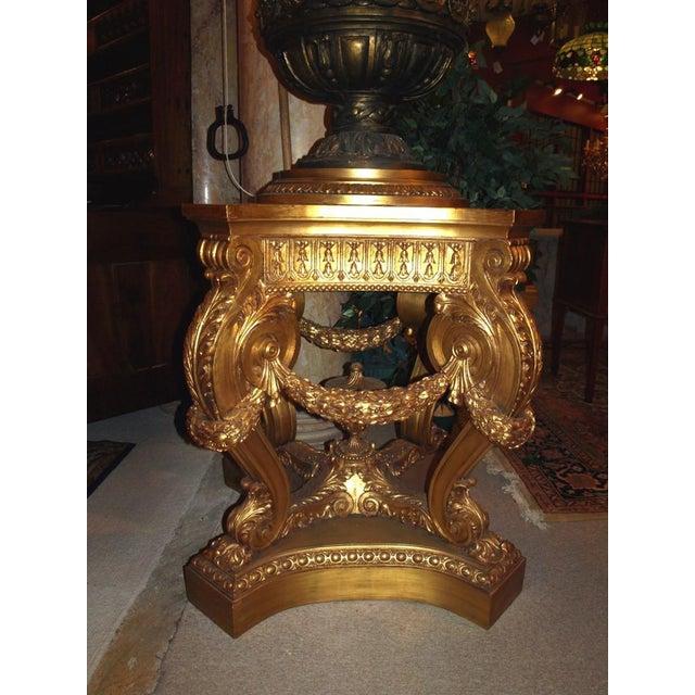 Antique Pair of Magnificent Pedestals - Image 2 of 7
