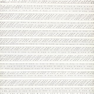 Barbara Lewis 1960s Minimal Systematic Ink Drawing 1967 For Sale