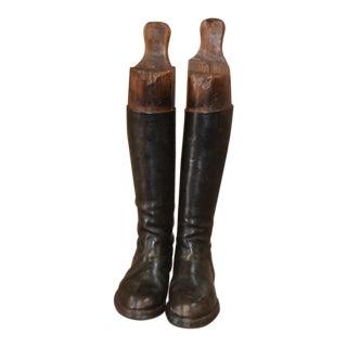 Antique European Riding Boots For Sale