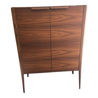 Porada Atlante 1 Walnut Cabinet For Sale