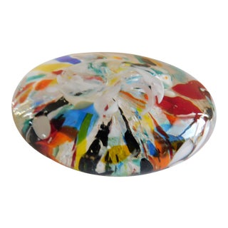 Mid-Century Murano Glass Paper Weight For Sale