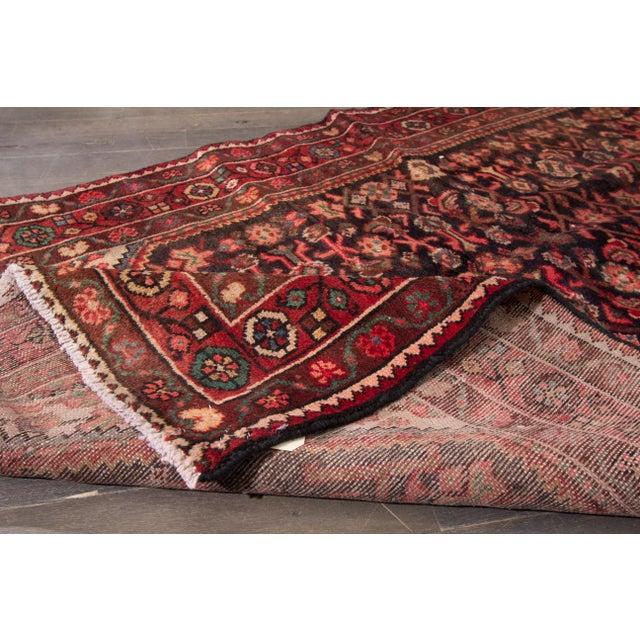 "Traditional Apadana - Vintage Persian Rug, 3'8"" x 13'2"" For Sale - Image 3 of 5"