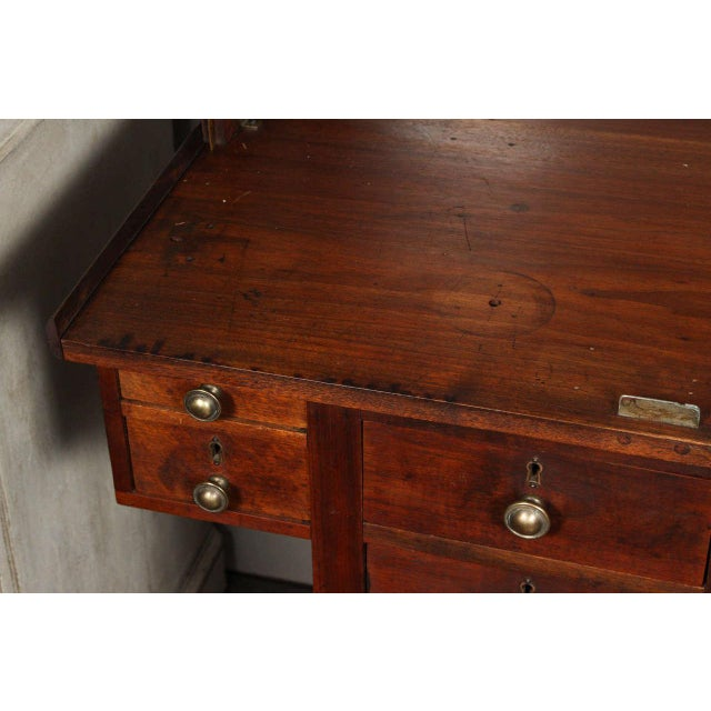 Late 19th Century Unique 19th Century English Jeweler's Work Desk and Display Case For Sale - Image 5 of 11