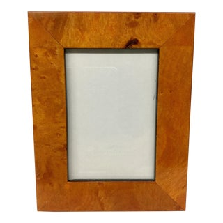 Contemporary Philip Whitney Wood Picture Frame For Sale