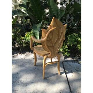 1970s Vintage Art Nouveau Leaf Chair Preview