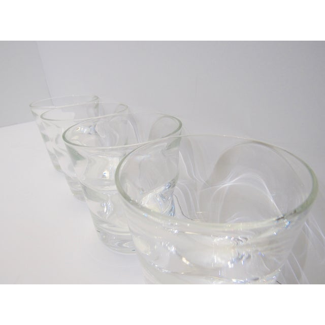 Glass Low Ball Glasses by Tiffany & Co - Set of 4 For Sale - Image 7 of 13