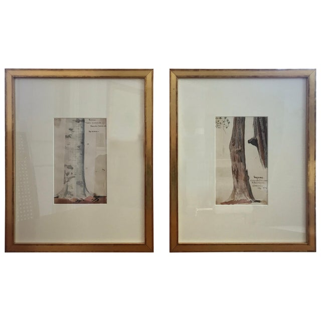 Traditional Charles De Wolf Brownell Watercolors - a Pair For Sale - Image 9 of 9