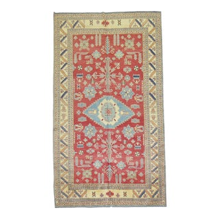 Vintage Afghan Rug - 7'1'' x 11'10'' For Sale