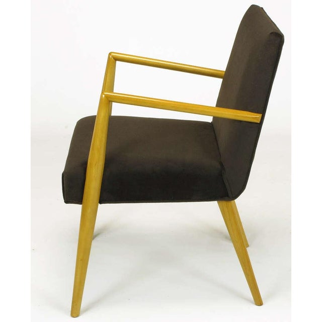 Pair T.H. Robsjohn-Gibbings For Widdicomb Open Arm Chairs. - Image 6 of 10