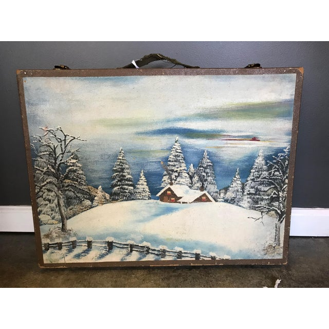 Vintage Wooden Artist's Box For Sale In Washington DC - Image 6 of 6
