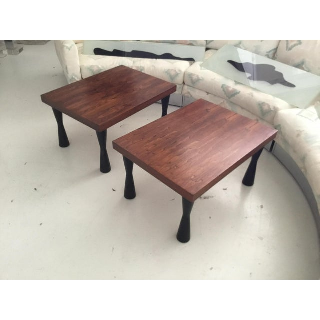 Mid-Century Rosewood End Tables - A Pair - Image 9 of 9