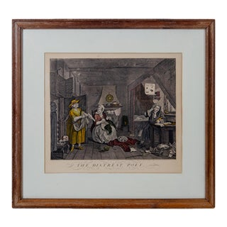 Early 19th Century William Hogarth the Distrest Poet For Sale