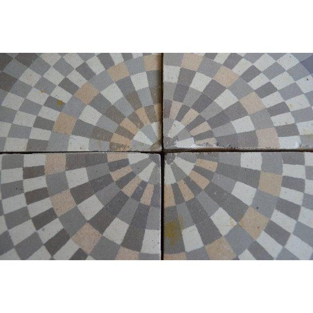Antique Belgian Ceramic Tiles - Set of 4 - Image 5 of 11