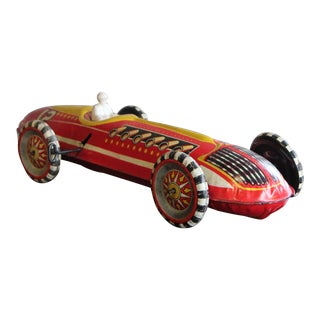 Vintage Toy Race Car For Sale