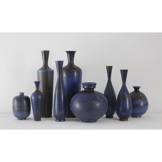 Asian BERNDT FRIBERG Collection of Vases Gustavsberg Studio Sweden, ca. 1950 For Sale - Image 3 of 3
