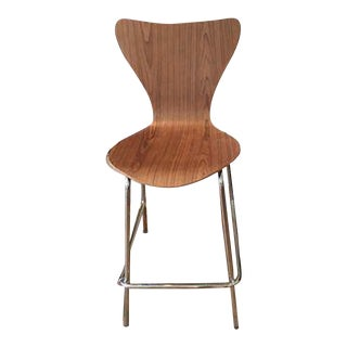Moulded Plywood Counter Stool