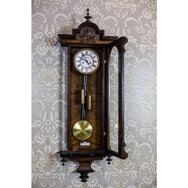 Traditional 19th-Century Wall Clock For Sale - Image 3 of 13