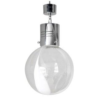 Membrana Globe Pendant by Toni Zuccheri for Venini For Sale