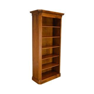 Baker Milling Road Hildebran Tall Italian Maple Open Bookcase For Sale