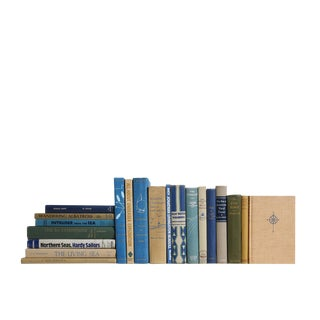 Pacific Shores Nautical - Set of Twenty Decorative Books