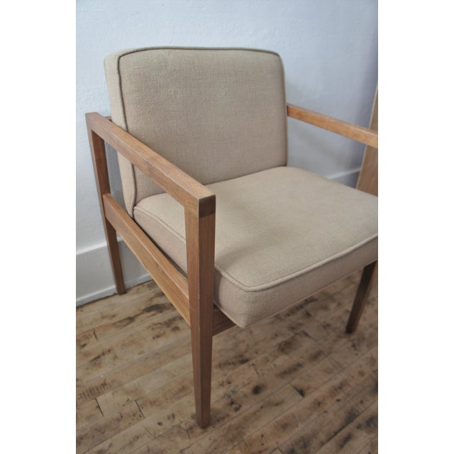 Mid-Century Modern 1960s Vintage George Nelson Lounge Chair For Sale - Image 3 of 13
