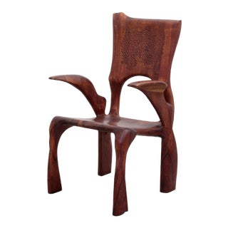 One of a Kind Studio Charles B. Cobb Armchair, US, 1977 For Sale