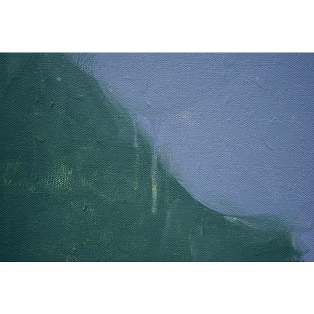 "2010s Stephen Remick ""Evening Descending"" Contemporary Abstract Painting For Sale - Image 5 of 12"
