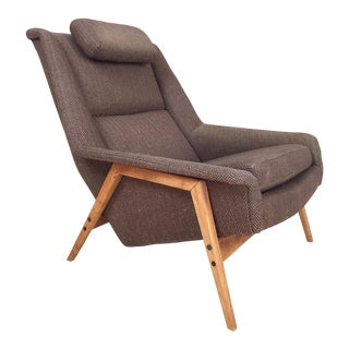 Folke Ohlsson for Dux Scandinavian Modern Lounge Chair