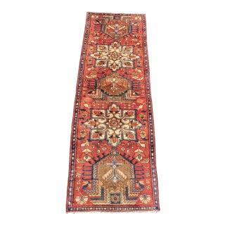 1970s Vintage Persian Karajeh Runner Rug - 2′6″ × 8′6″ For Sale