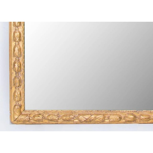 Louis XVI Exceptional French 19th Century Mirror For Sale - Image 3 of 4
