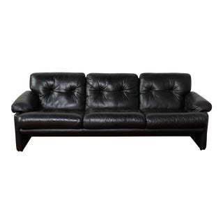 Coronado' Leather Sofa by Afra and Tobia Scarpa for B&b Italia For Sale