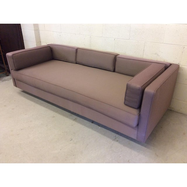 Mid Century Modern Knoll-Style Floating Sofa For Sale - Image 4 of 10