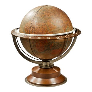 Léon Hatot (1883-1953) Says Ato - Rare Pendulum Forming World Map - Around 1930-1935 For Sale