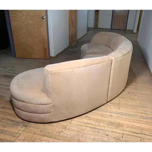Vintage Sectional Cloud Sofa attributed to Vladimir Kagan For Sale - Image 11 of 13