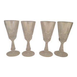 Waterford Crystal Kenmare Sherry/Aperitif Glasses - Set of 4 For Sale