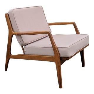 Mid-Century Ib Kofod-Larsen Danish Lounge Chair For Sale