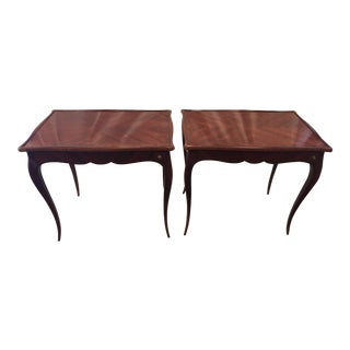 Louis XV Style Rosewood Game Tables - a Pair