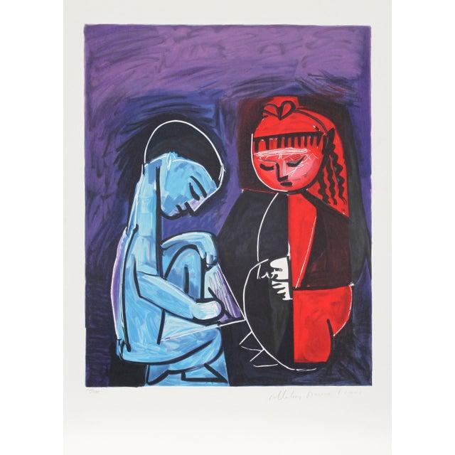 """Pablo Picasso """"Claude Et Paloma"""" Lithograph For Sale"""