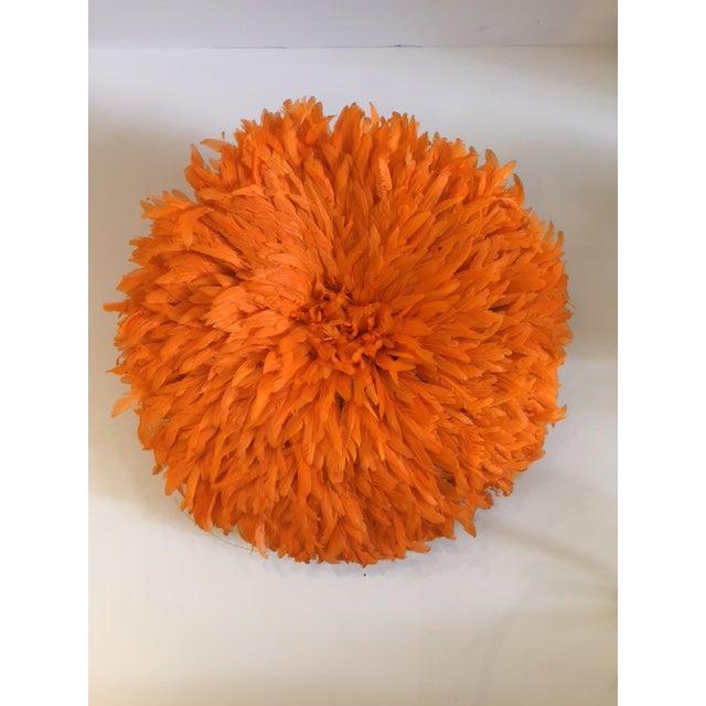 Boho Chic Boho Juju Orange Hat Wall Home Decor For Sale - Image 3 of 6