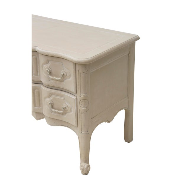Wood French Provincial Nightstand by Baker Furniture For Sale - Image 7 of 11