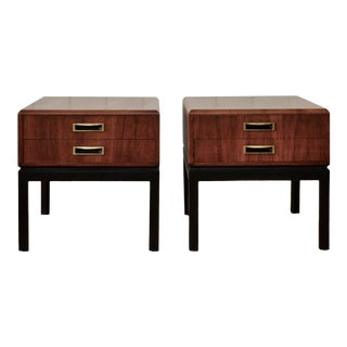 Founders End Tables After Harvey Probber - a Pair For Sale