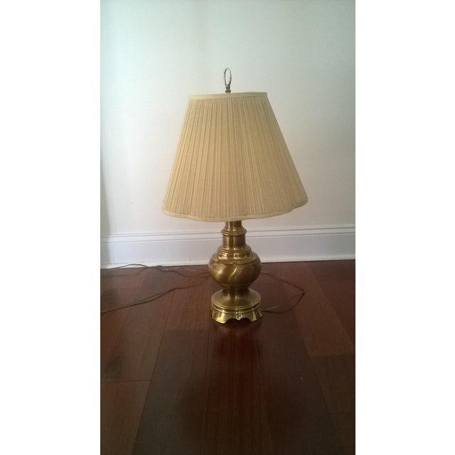 Vintage Brass Table Lamp - Image 2 of 3