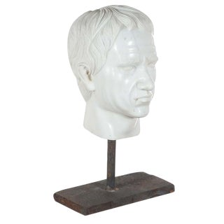 Roman Emperor Marble Bust For Sale