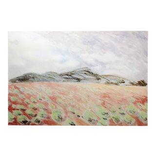 Nancy Denison Untitled Original Watercolor Landscape Painting C.1986 For Sale
