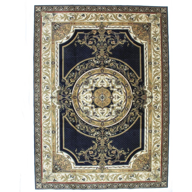 Savonnerie Style Wool Rug - 8′4″ × 11′6″ - Image 1 of 4